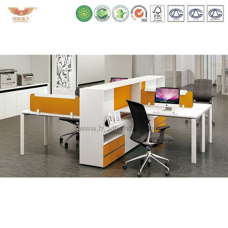 2017 New Modern Good Quality Good Price Office Cubicle Staff Cubicle with Fsc Certificate