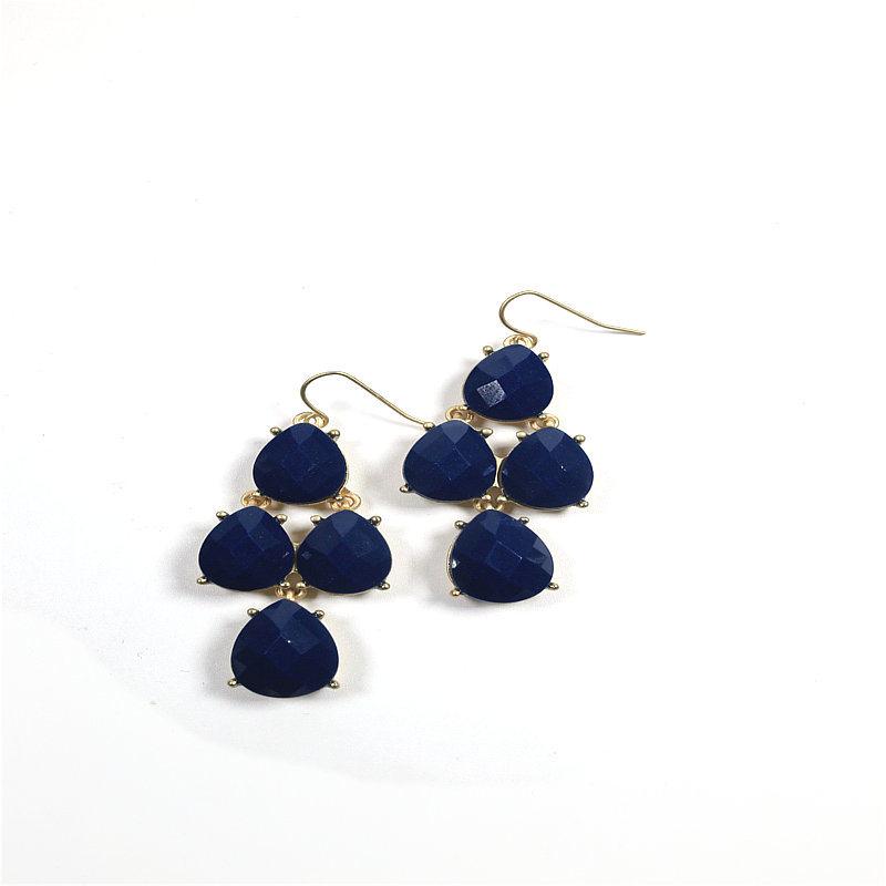 New Item Resin Chandelier Fashion Jewelry Earring