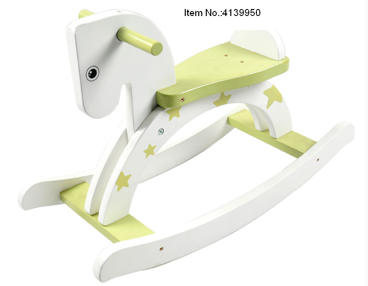 Little Star Wooden Rocking Horse