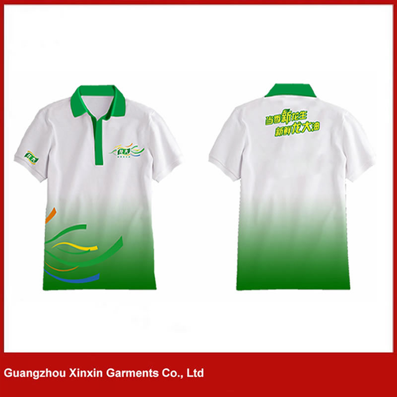 Custom Men Sublimation Printing Polo Shirts for Worker (P80)