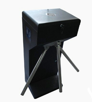 Automatic Access Control Waist Height Tripod Turnstile