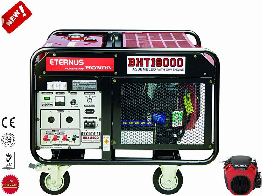 12kw Honda Engine Three Phase Gasoline Generator BHT18000