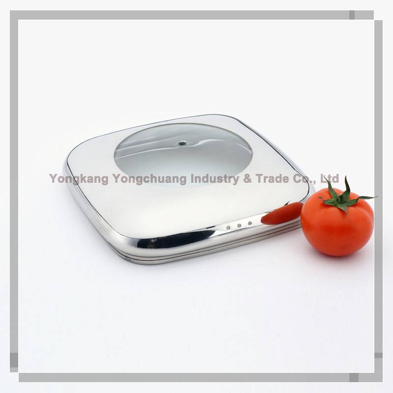 Stainless Steel Lid for Cookware - China Stainless Steel Lid, Tempered ...