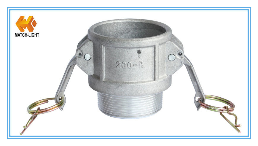 Stainless Steel Male NPT Threaded Cam and Groove Coupling