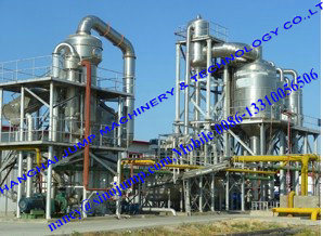 Fruit Juice Falling Film Evaporator/Fruit Paste Vacuum Evaporator