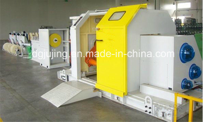 High Speed Cantilever Single Cable Wire Stranding Bunching Machine Cable Making Equipment