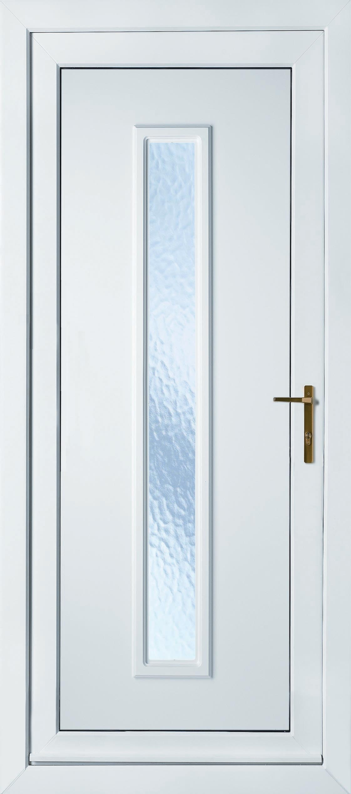 China White Upvc French Door 001 Photos Pictures