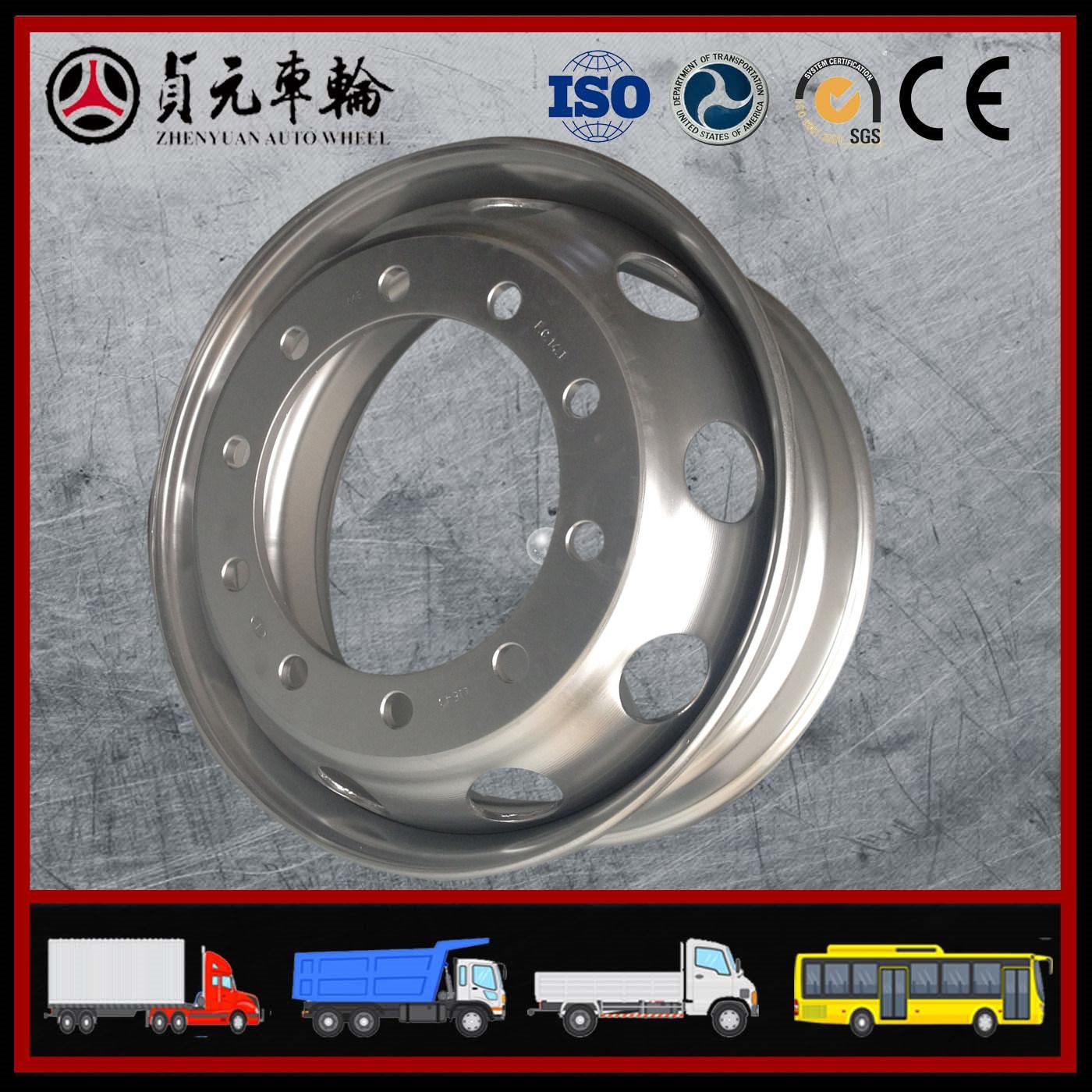 Tubeless Trailer Truck Steel Wheel Rim (22.5 X 9.00 22.5X8.25)