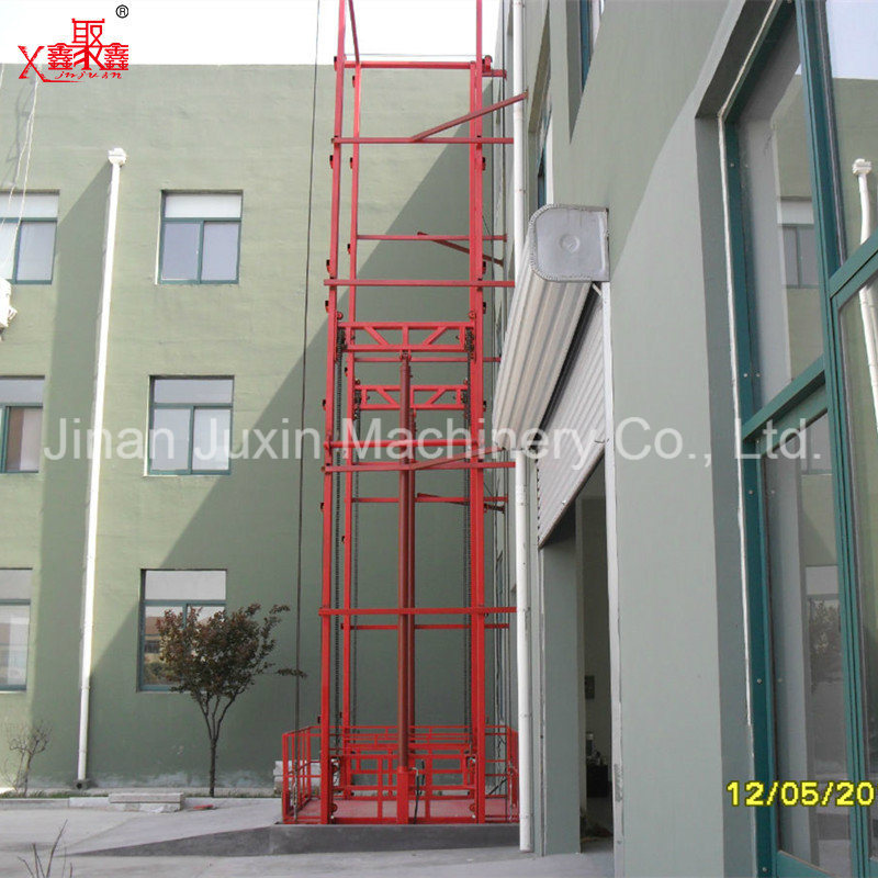 Fixed Warehouse Cargo Elevator Lift
