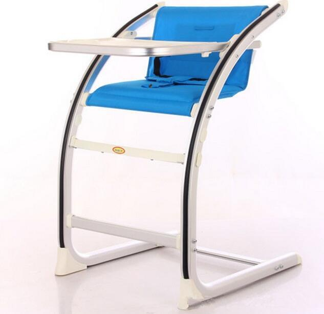 Aluminum Alloy Adult Coffee Chair Baby Dining Chair Baby Eating