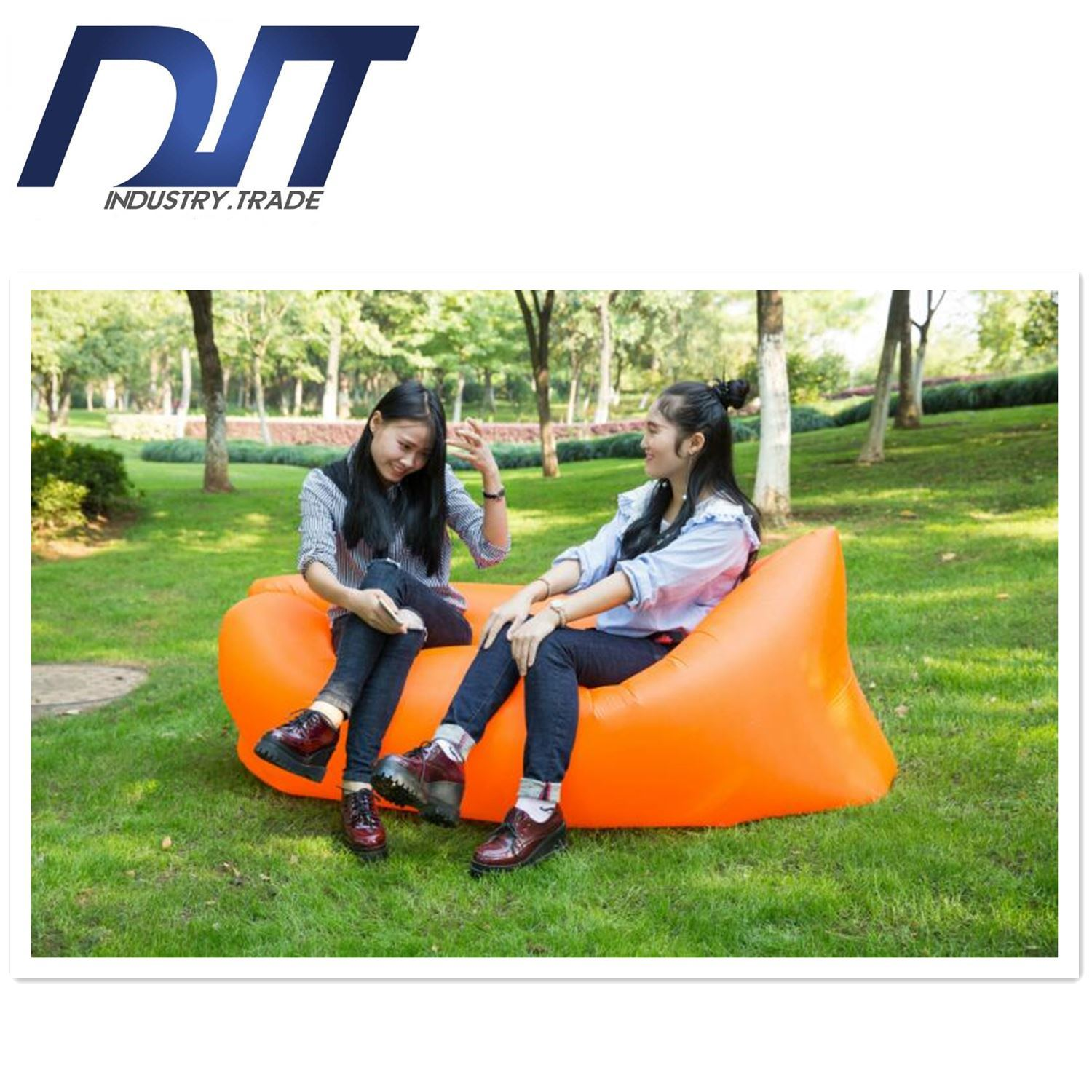Outdoor Travelling Lazy Sleeping Bag Fast Air Inflatable Sofa