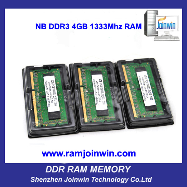 Full Compatible 256MB*8 Laptop RAM PC10600 1333 4GB DDR3