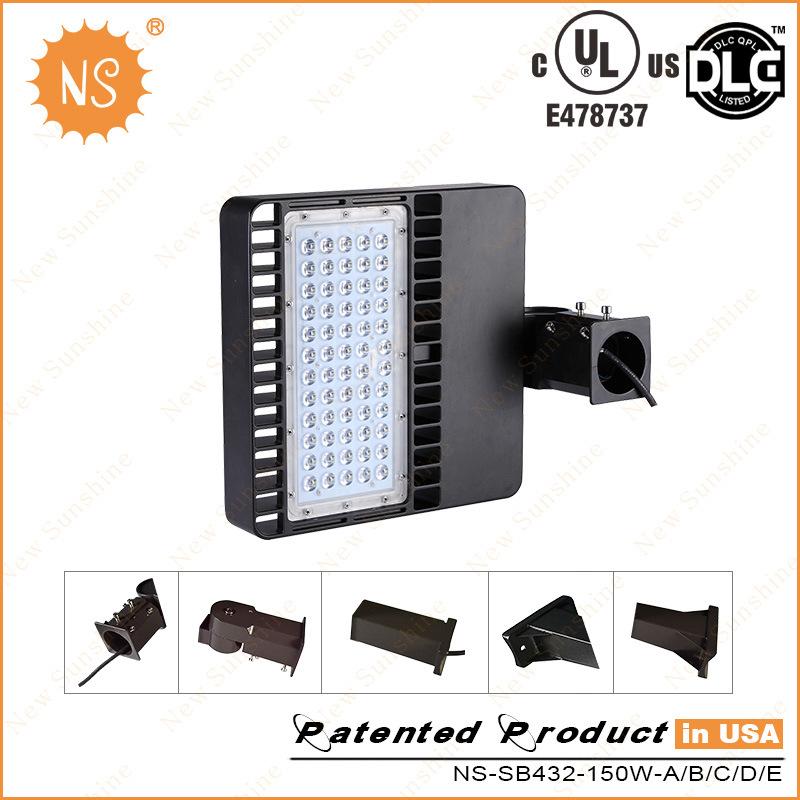 20000lm Natural White 5500k UL 150W LED Parking Lot Fixture LED Street Light