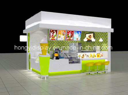 Unique Design Outdoor Kiosk/ Outdoor Fast Food Kiosk/ Modern Street Food Kiosk for Sale