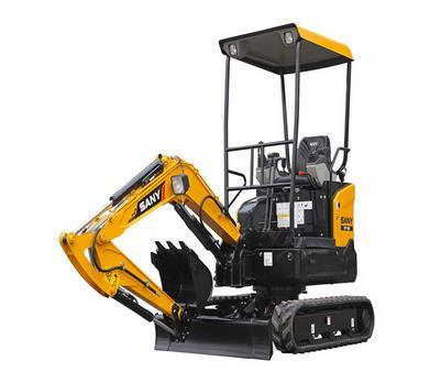 Sany Sy16 Lower Fuel Hydraulic Crawler Excavator