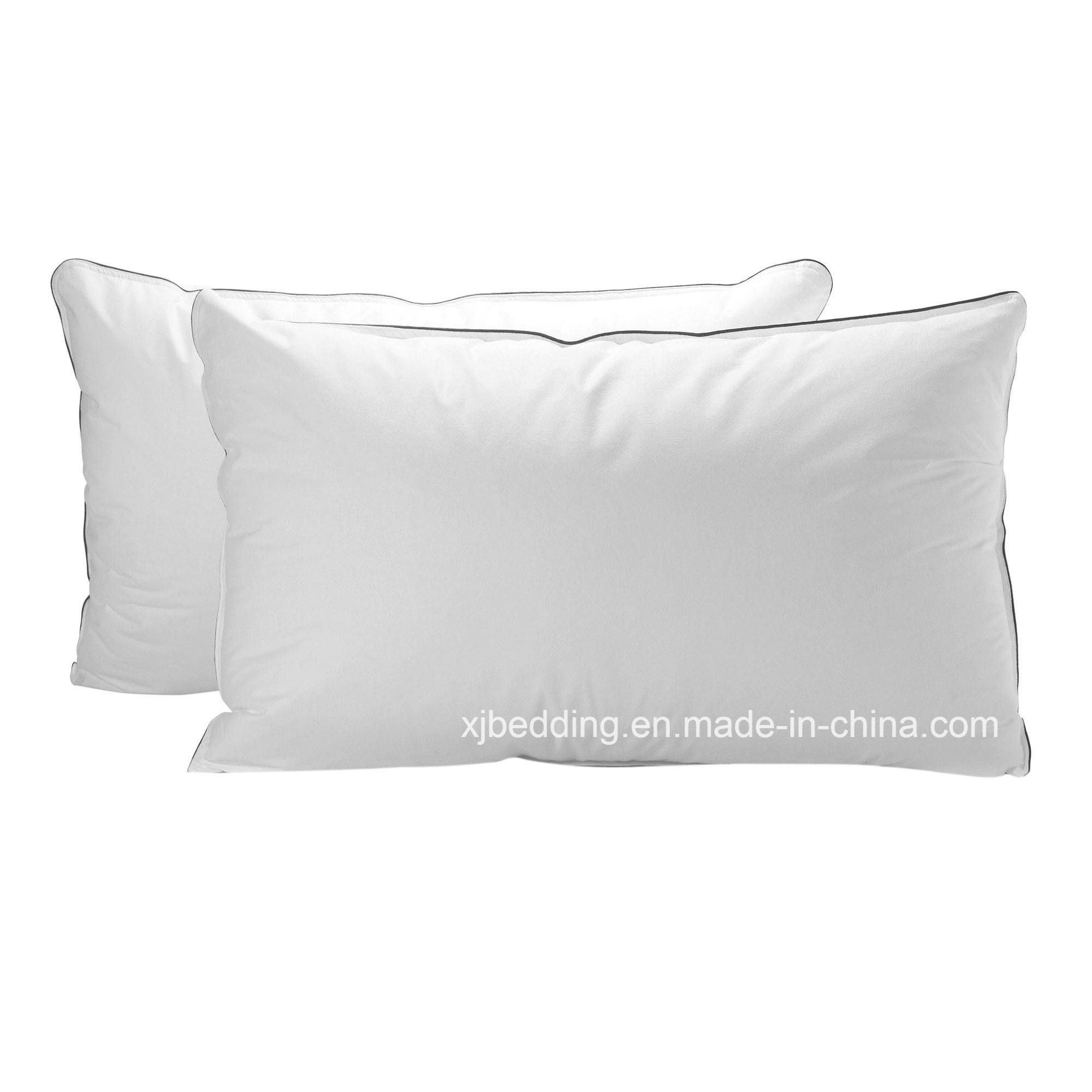 Cotton Fabric Microfiber Pillow Box Pillow with 2.5cm Gusset