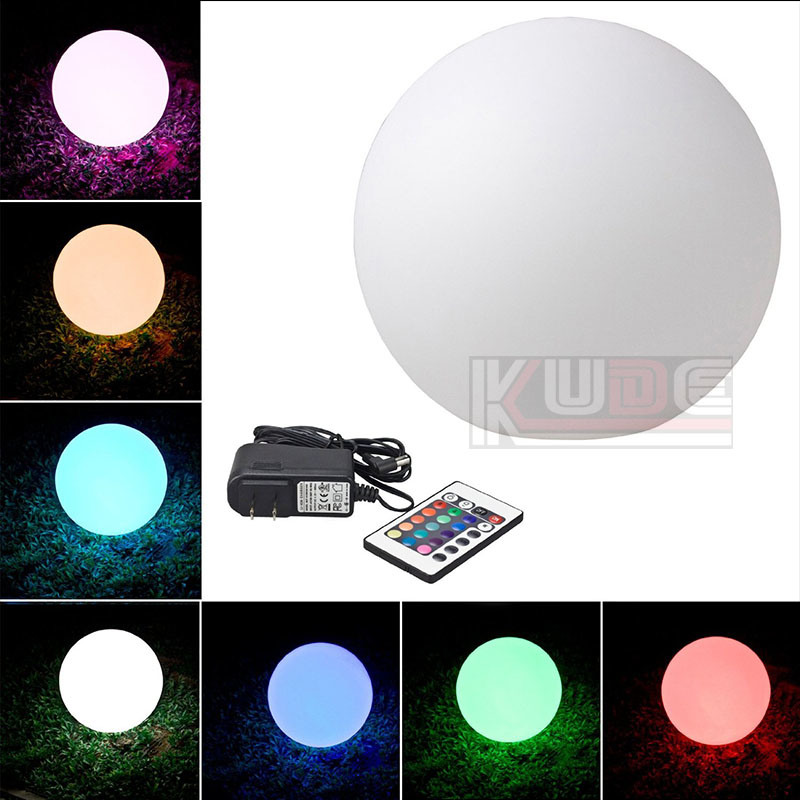 Battery Powered Globe Multicolor Waterproof LED Lighting Ball