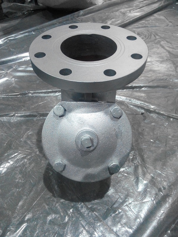 JIS 10k Cast Iron Double Flange Y Strainer