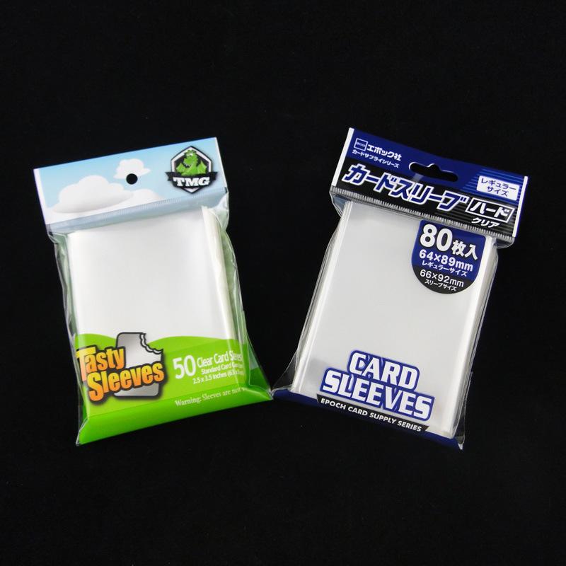 100mic Custom Design Card Sleeves for Game