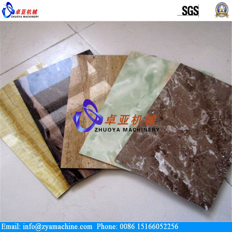 PVC Faux Marble Sheet/Panel Extrusion Machine