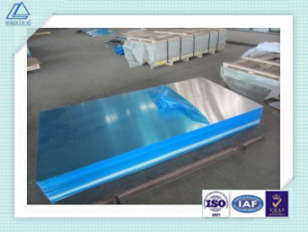 Cold/Hot Rolling 1060-H24 Aluminum Plain/Flat Sheet