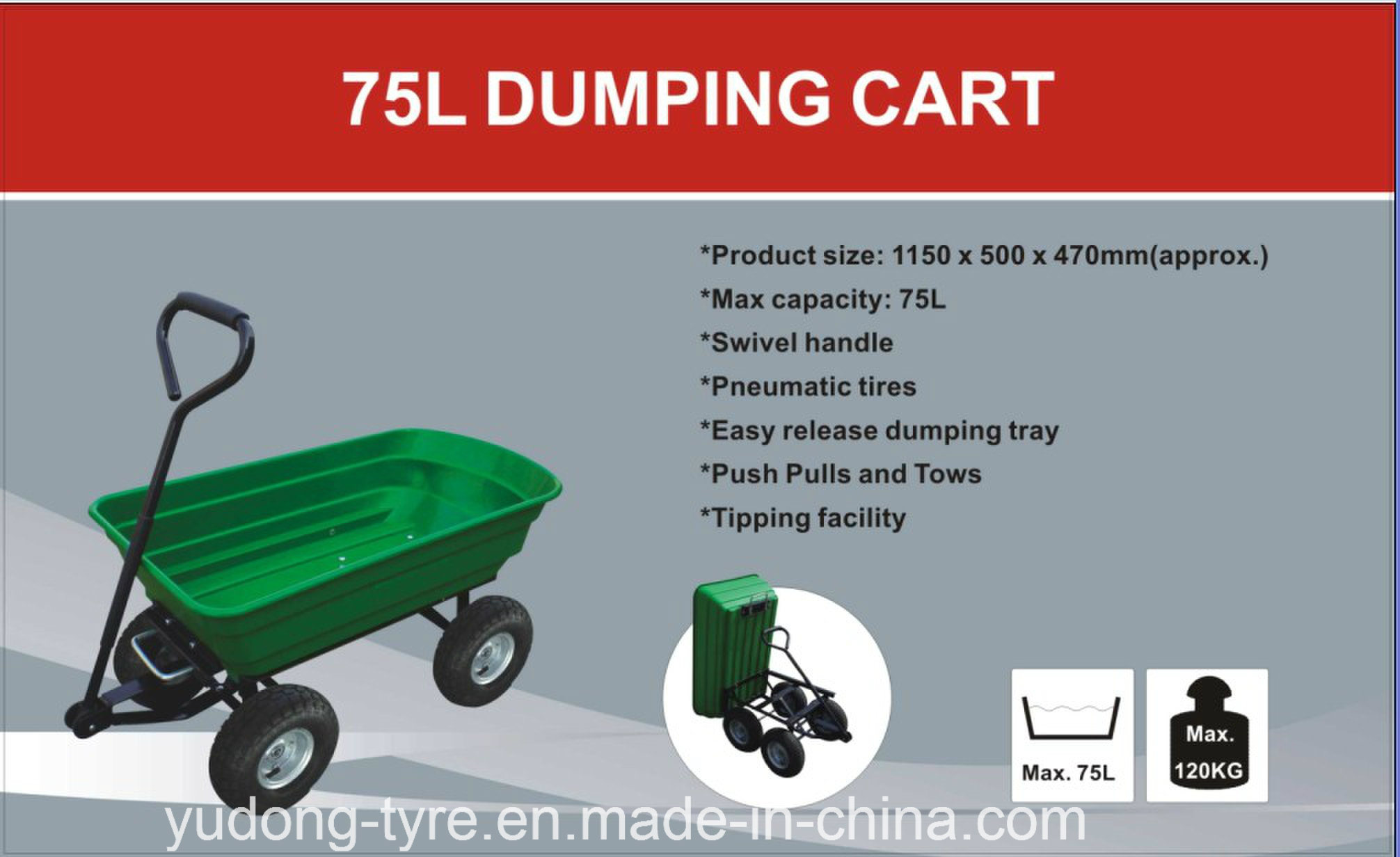 Tool Cart Tc2145 for Japan Europe and USA Markets