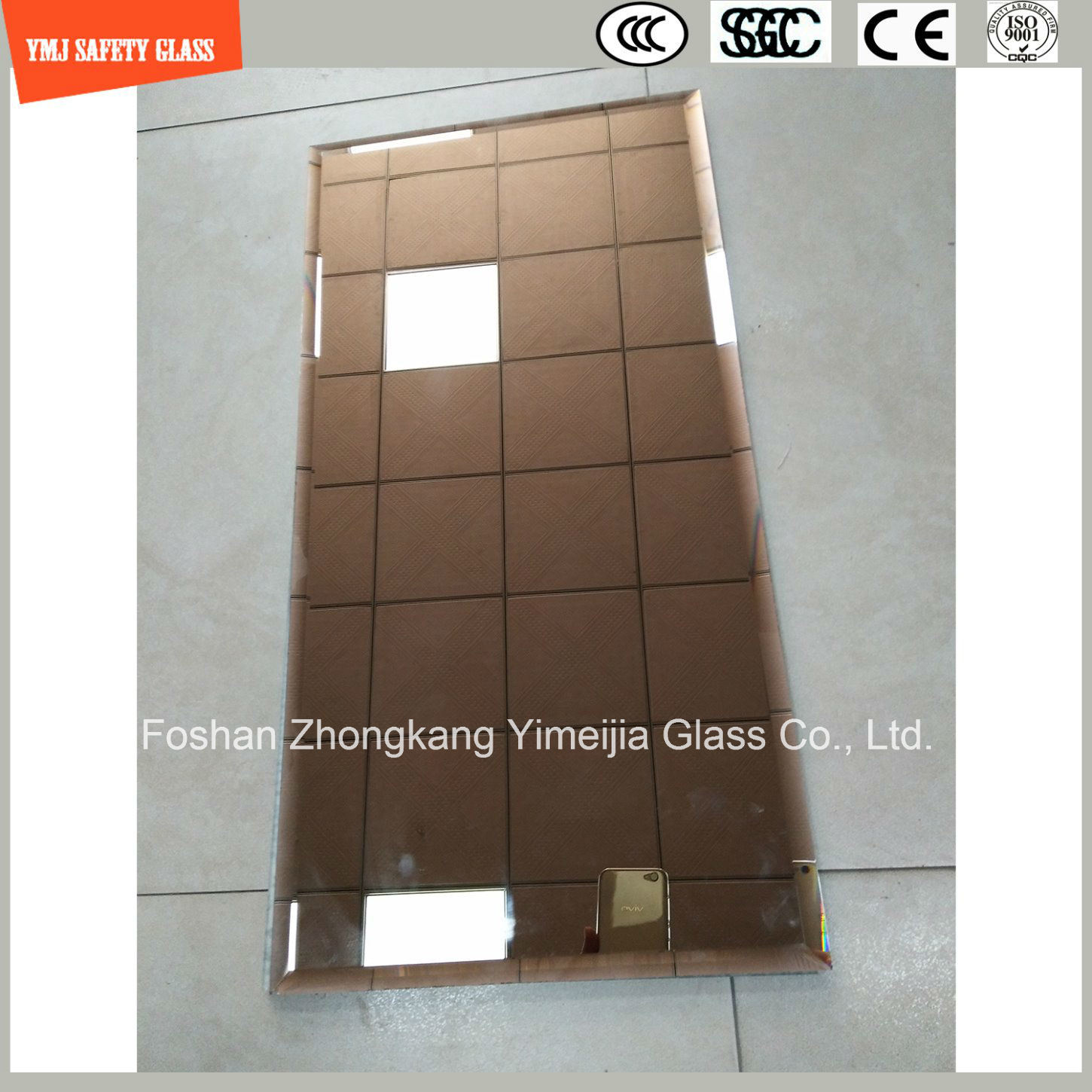 6-24mm Laminating Mirror for Home Decoration, Furniture
