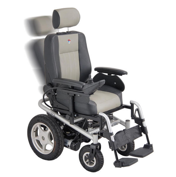High Speed Power Wheelchair with Curtis Light System