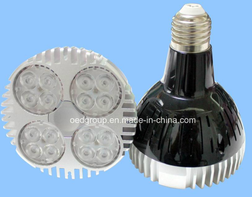 85-265VAC 35W PAR30 CREE LED Spotlight with 3000lm