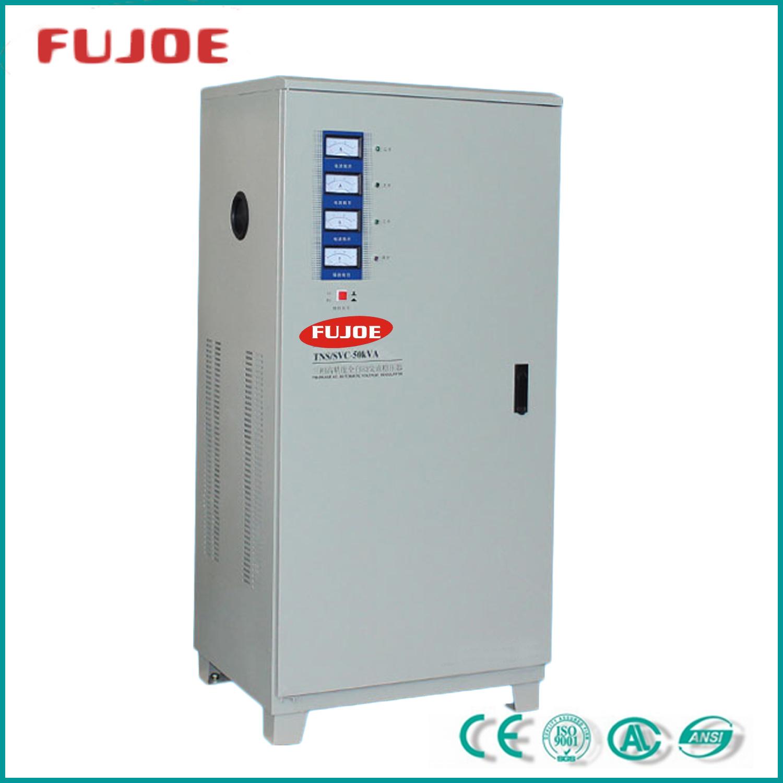 Tns/SVC50kVA Three Phase AC Voltage Regulators / Voltage Stablizers
