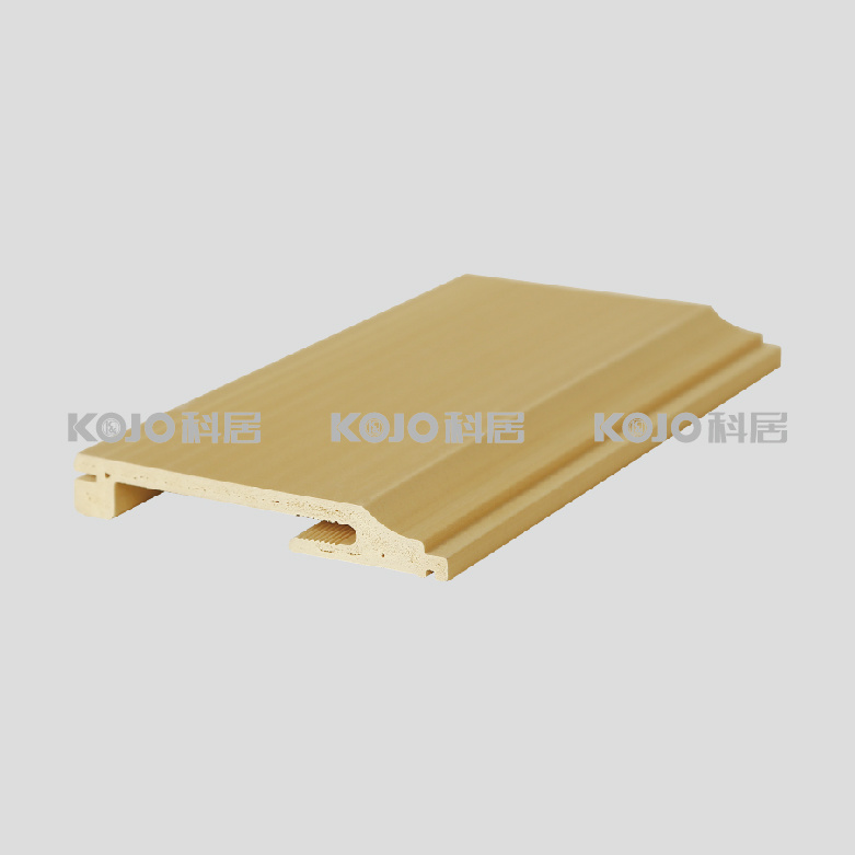 WPC Waterproof Floor Skirting for Home Decoration Constructure (VK-T2C)