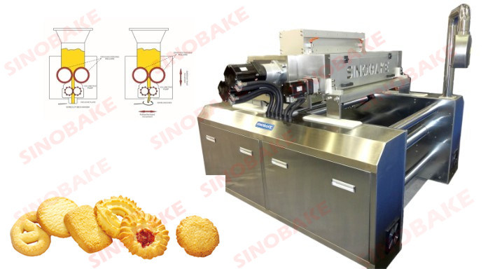 Depositor & Wire Cut Cookie Machine
