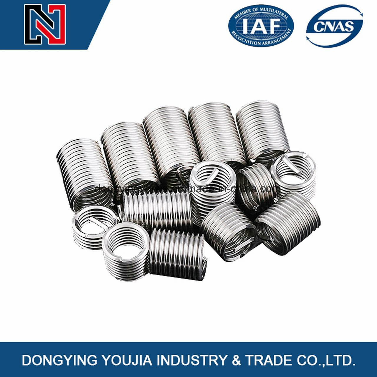 Chinese Manufacturer Fasteners Standard Wire Thread Insert