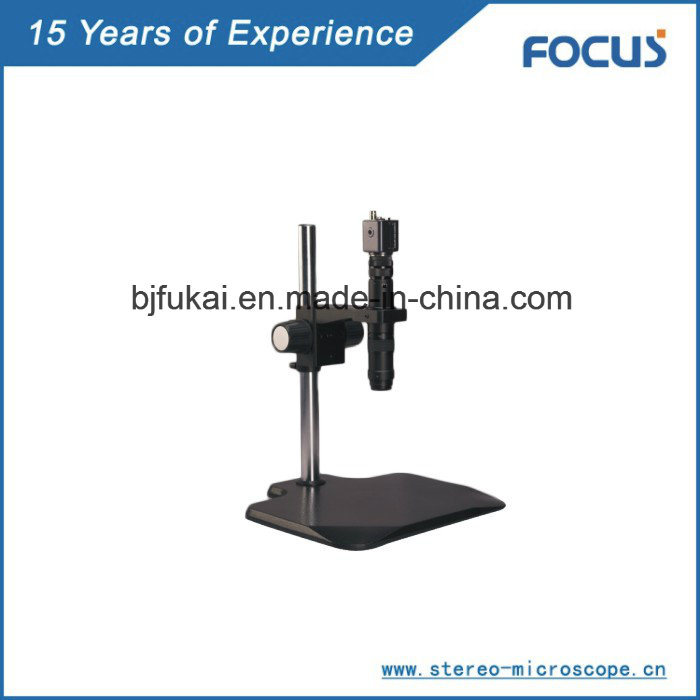 Stable Quality Monocular Microscope for Anatomical Lens Microscopy