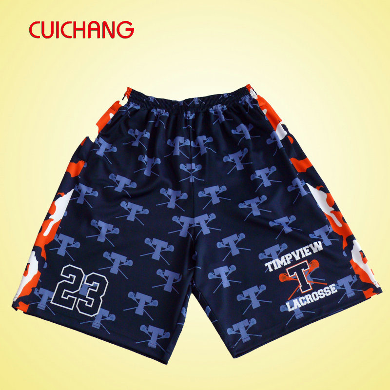 Wholesale Sublimated Cool Lacrosse Shorts