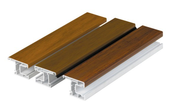 Film Laminated UPVC Profiles for Windows and Doors
