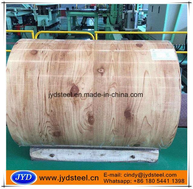 Wood Grain Design PPGI Coils for Interior Decoration