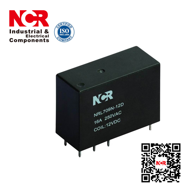 Stable Performance Long Service Life Magnetic Latching Relay (NRL709N)