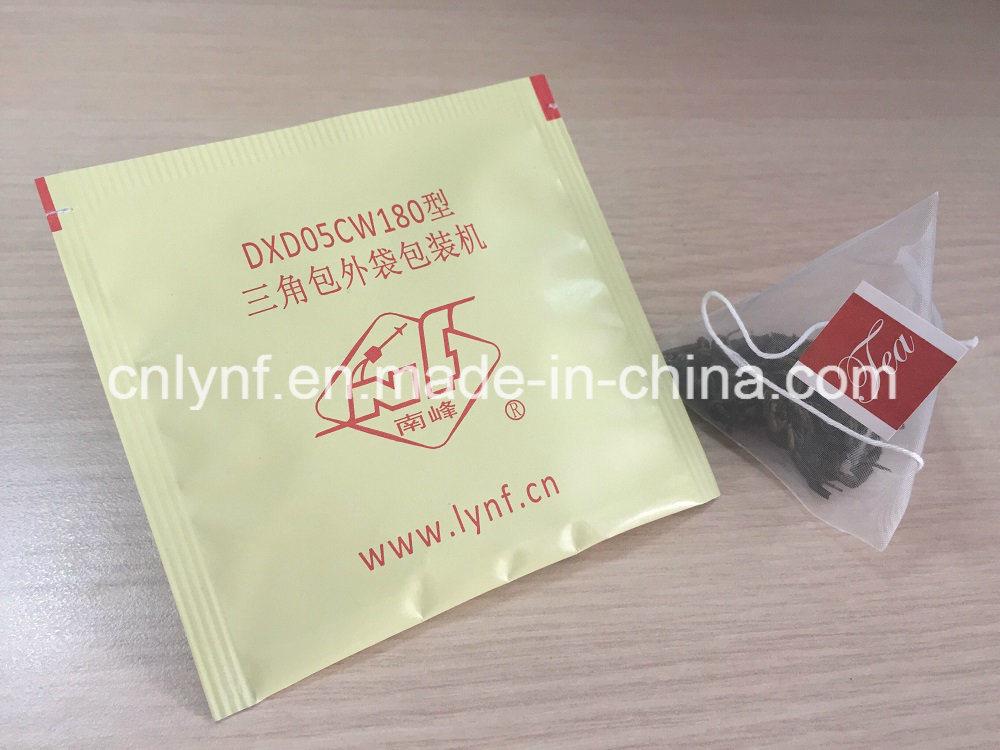 Pyramid Tea Bag with Envelope Packing Machine