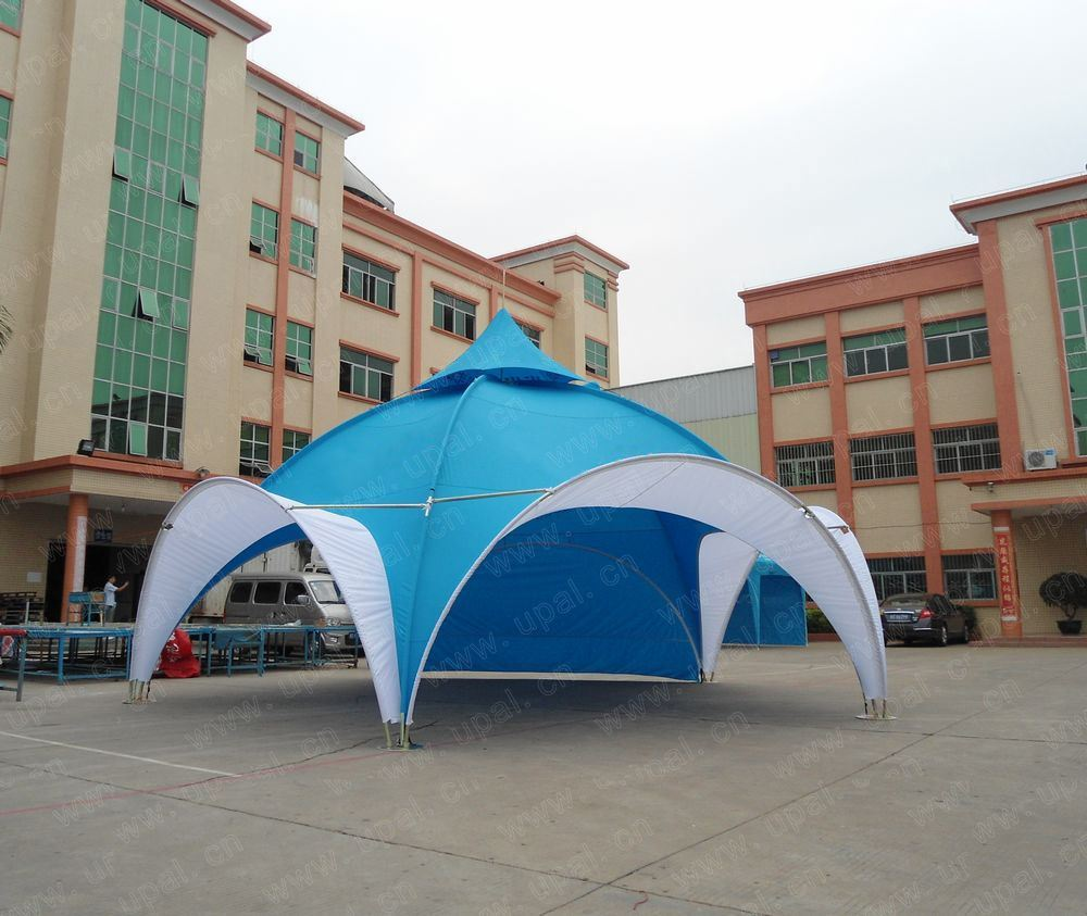 Custom Tents Shelter : China dome shaped tent promotional beach sun shelter