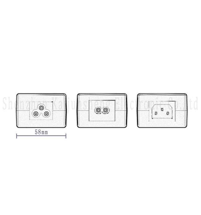 Hot Sale Laptop Battery 60W Power Supply