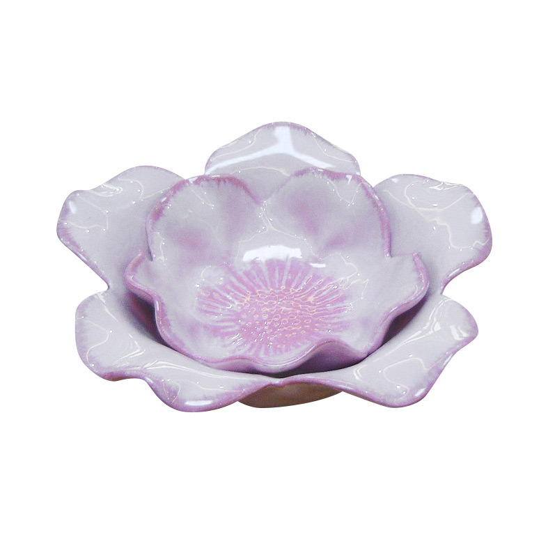 Ceramic Lotus Dish