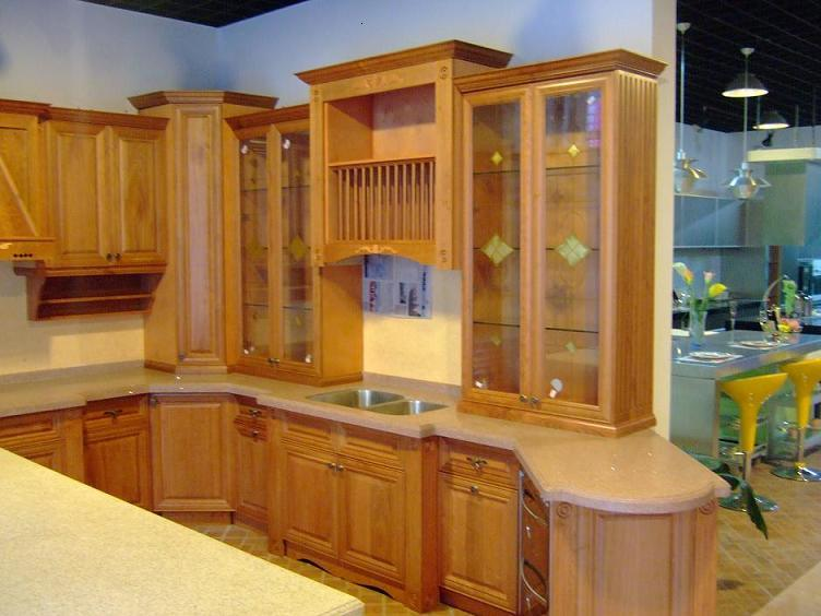 Solid Wood Kitchen Cabinet W1824 B09 China Solid Wood Kitchen
