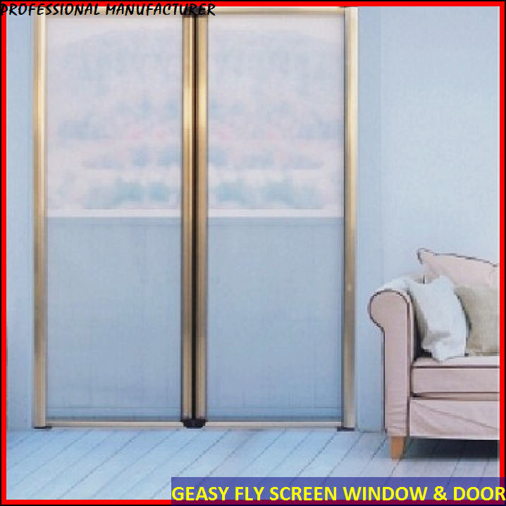 Phantom screen doors home depot ideas french sliding patio for Garage screen door rollers