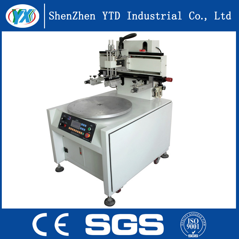 Vertical Truntable Screen Printing Machine with Low Price