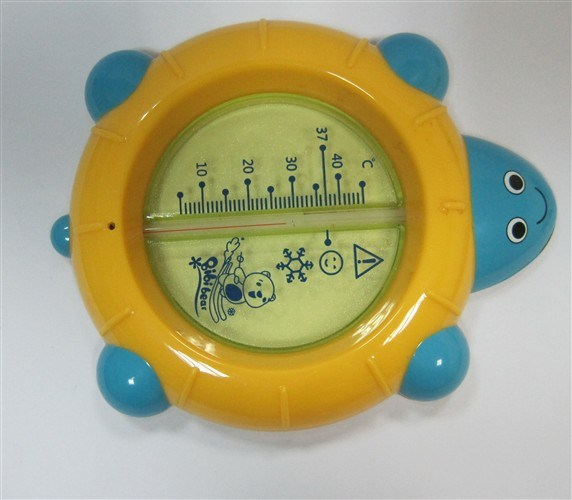 China Good Ieka Blue Turtle Bath Water Thermometer H21352