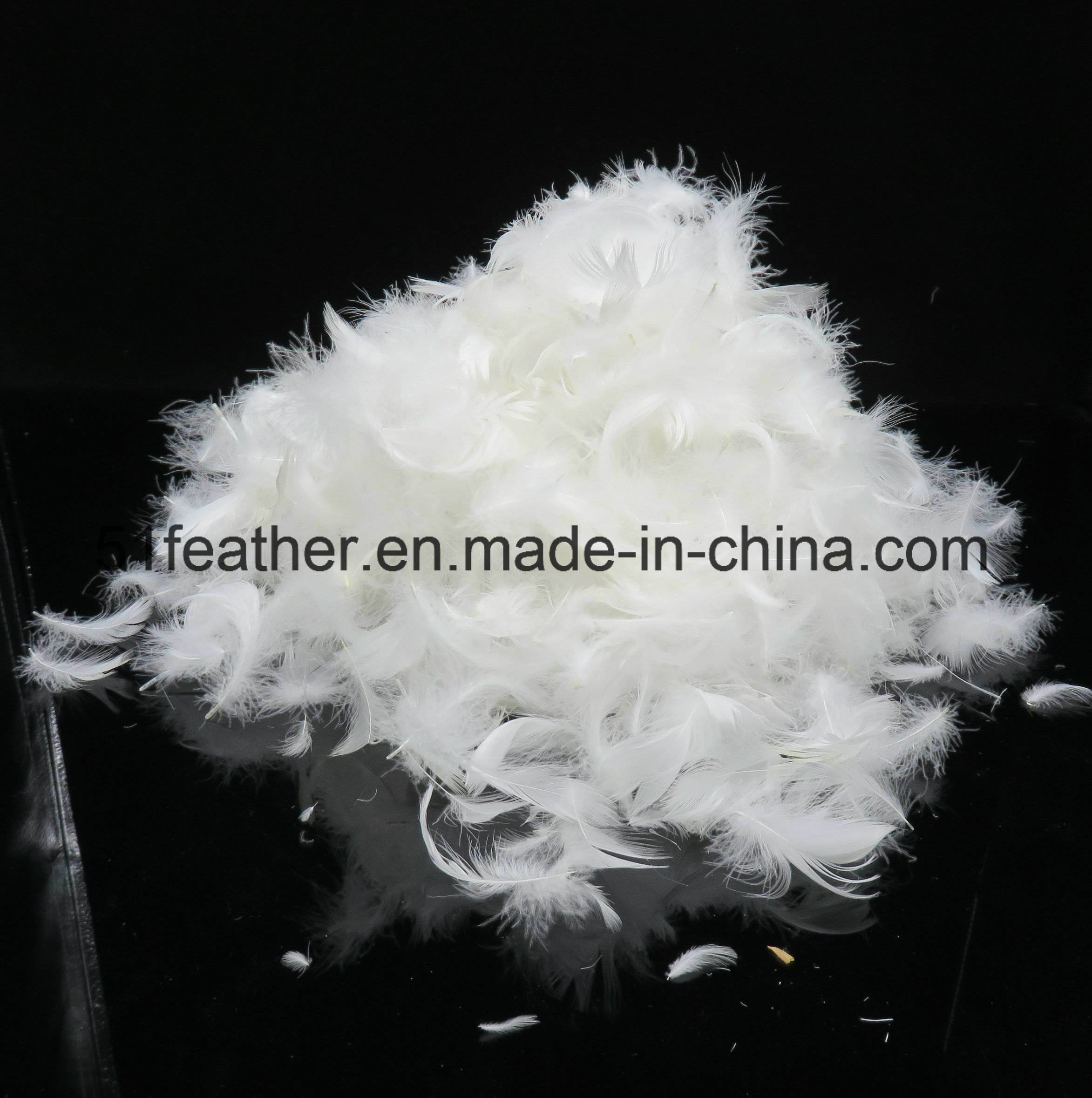 Washed White Duck Feather (2-4cm 4-6cm) GB/T17685-2016