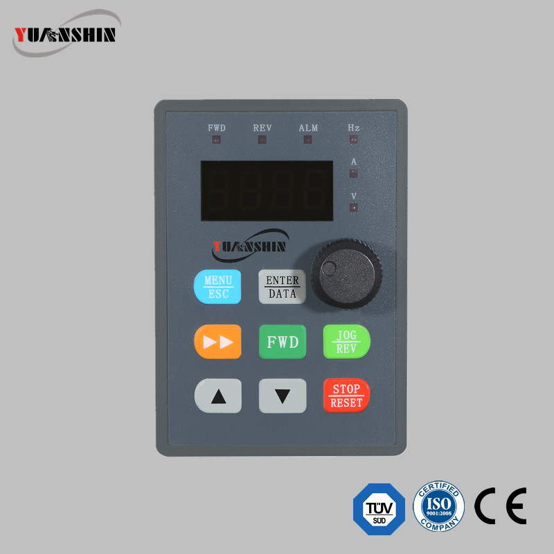 Yx3000 Series Mini Type Single Phase Frequency Inverter 0.2-3.7kw 220V for Water Pump