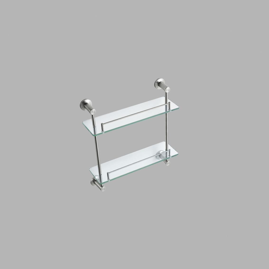china bathroom double glass shelf 70702 china bathroom. Black Bedroom Furniture Sets. Home Design Ideas