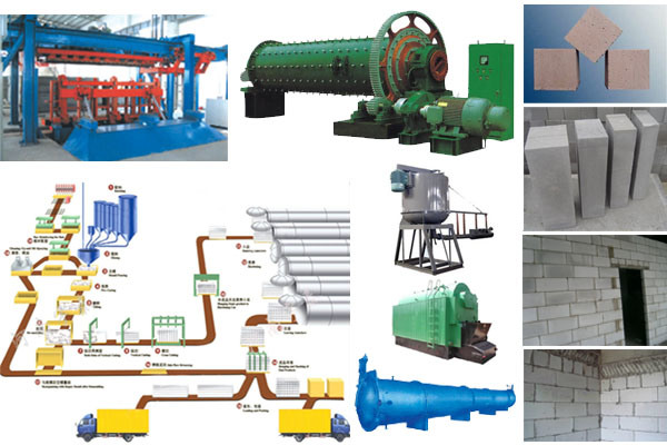 China AAC/Autoclave Aerated Concrete Block Machine AAC